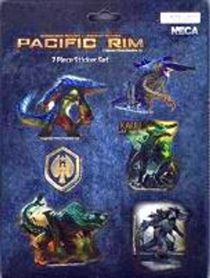 NECA Pacific Rim Kaiju Sticker Set