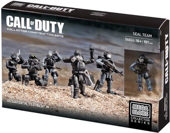 Mega Bloks Call of Duty Seal Team Set #06824
