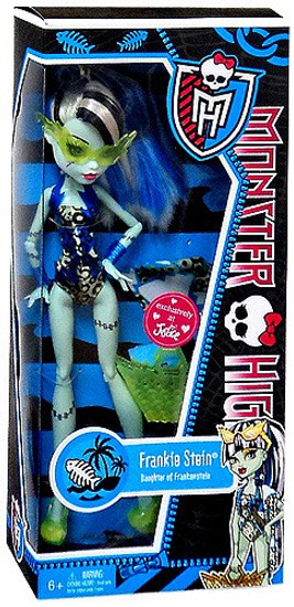 Monster High Swim Suit Frankie Stein Exclusive 10.5-Inch Doll