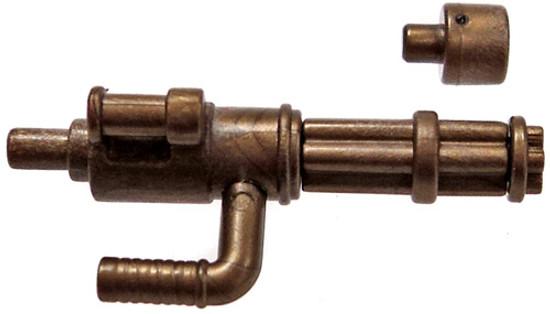 BrickArms Minigun 2.5-Inch [Brass with No Ammo]