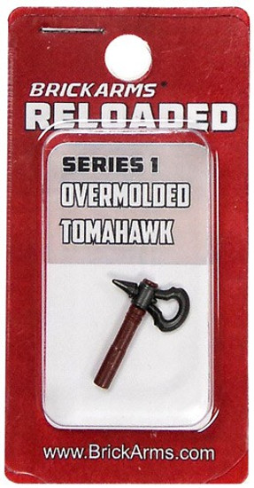BrickArms Reloaded Series 1 Weapons Assassin's Tomahawk 2.5-Inch [Overmolded] [New Sealed]