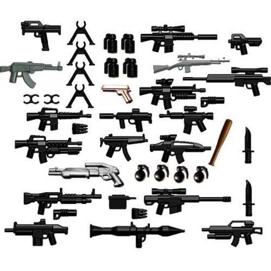 BrickArms 42-Piece Custom 2.5-Inch Weapons Pack