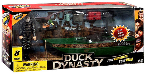 Duck Dynasty Adventure Wheels Boat & SI Action Figure Playset