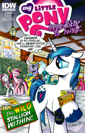 My Little Pony Friendship is Magic #12 Comic Book [Cover A]