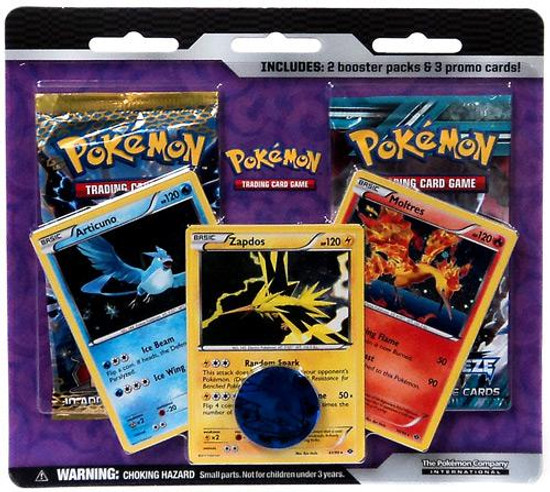 Pokemon Trading Card Game Black & White Legendary Birds Special Edition [2 Booster Packs & 3 Promo Cards]