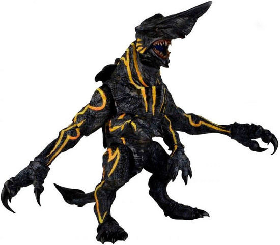 NECA Pacific Rim Ultra Deluxe Knifehead Action Figure [Light Up Eyes & Mouth!]