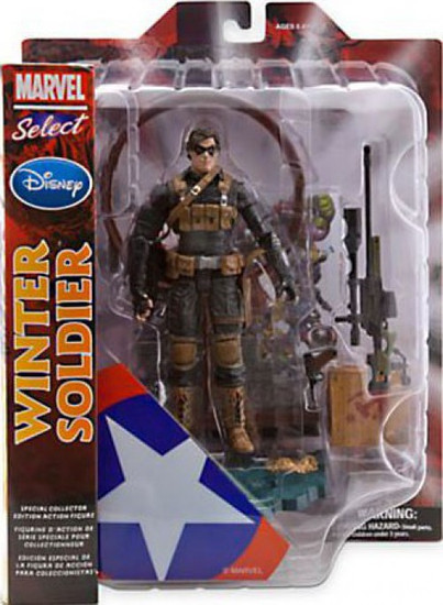 Marvel Select Winter Soldier Exclusive Action Figure
