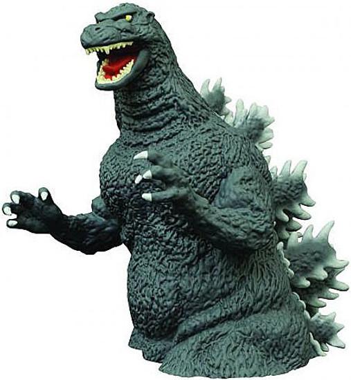 Godzilla 1989 Godzilla Vinyl Bust Bank [1989]