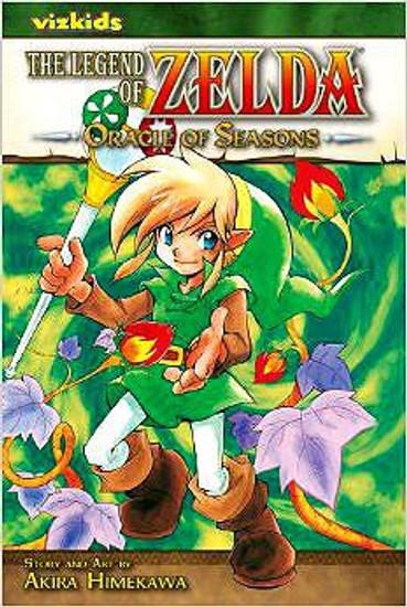 The Legend of Zelda Oracle of Seasons Manga [Volume 4]