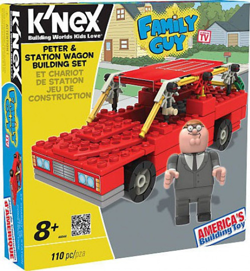 K'NEX Family Guy Peter & Station Wagon Set #44044