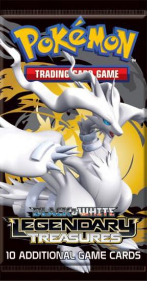 Pokemon Trading Card Game Black & White Legendary Treasures Booster Pack [10 Cards]