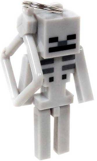 Minecraft Hangers Series 1 Skeleton 3-Inch Keychain [Loose]