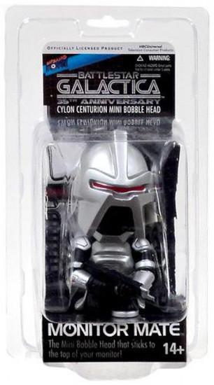 Battlestar Galactica 35th Anniversary Monitor Mate Cylon Centurion Mini Bobble Head