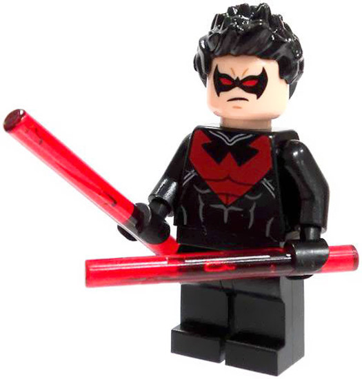 LEGO DC Universe Super Heroes Nightwing Minifigure [Loose]