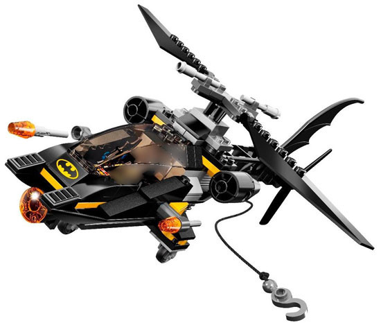 LEGO DC Universe Super Heroes Batcopter Loose Vehicle [Loose]