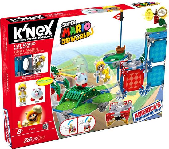 K'NEX Super Mario 3D Land Cat Mario Set #38635
