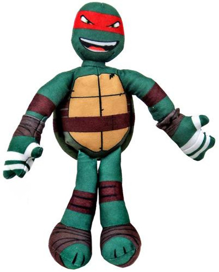 Teenage Mutant Ninja Turtles Nickelodeon Sling Shouts Raphael 10-Inch Plush