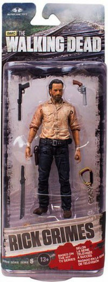 McFarlane Toys The Walking Dead AMC TV Series 6 Rick Grimes Action Figure