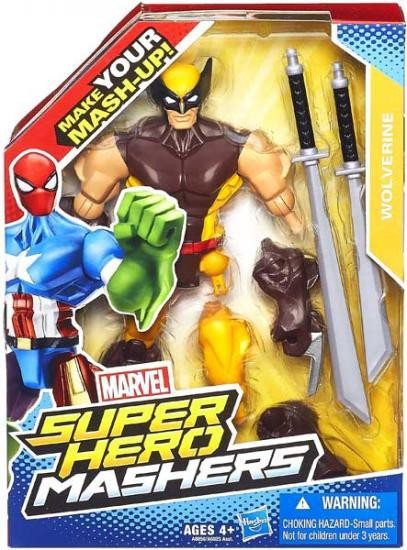 Marvel Super Hero Mashers Wolverine Action Figure [Uniform]