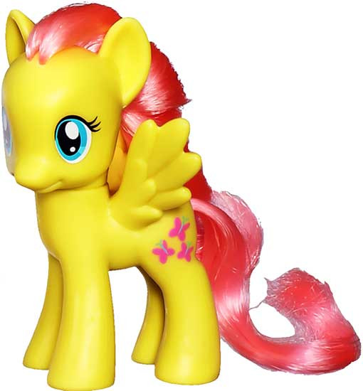 My Little Pony Fluttershy Collectible Figure [Loose]