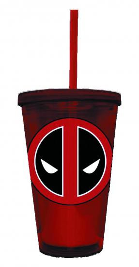Marvel Deadpool Symbol Acrylic Cup