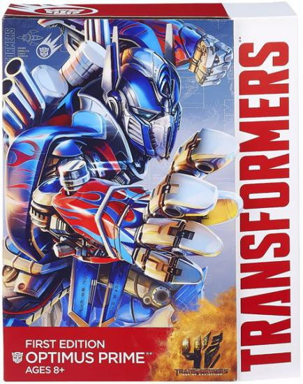 Transformers Age of Extinction First Edition Optimus Prime Exclusive Action Figure