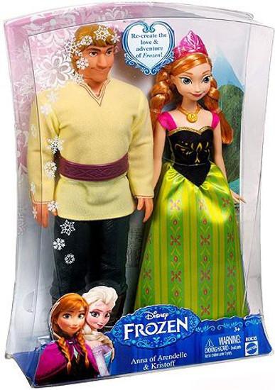 Disney Frozen Anna of Arendelle & Kristoff 11-Inch Doll Set