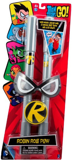 Teen Titans Go! Robin Role Play Roleplay Toy