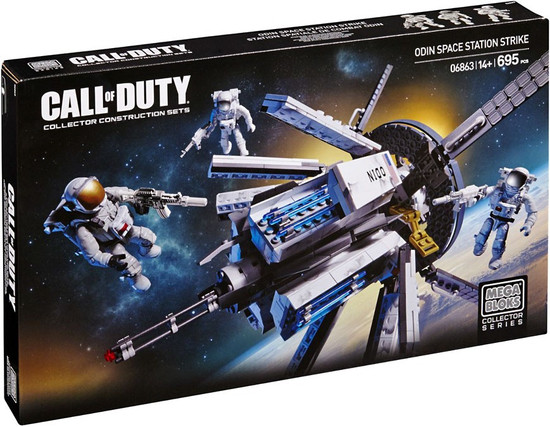 Mega Bloks Call of Duty ODIN Space Station Strike Set #06863