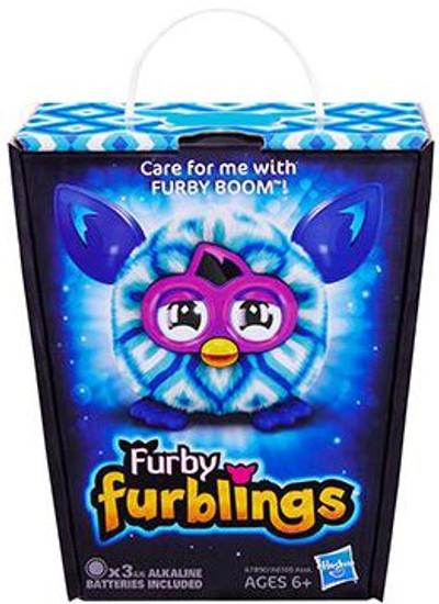 Furby Furblings Blue Diamonds Figure