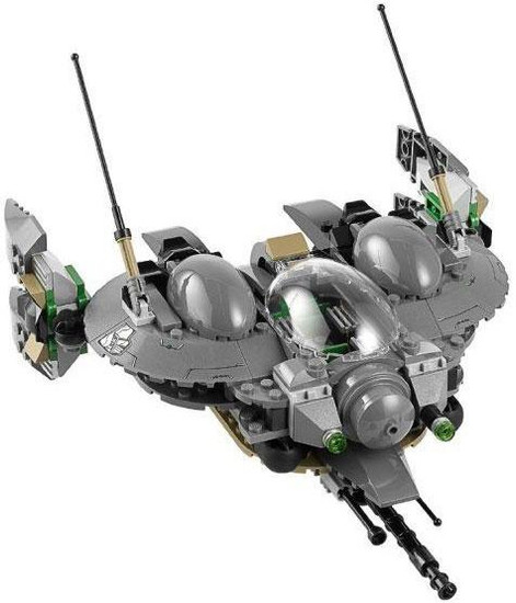 LEGO DC Universe Super Heroes Black Zero Dropship Loose Vehicle [Loose]