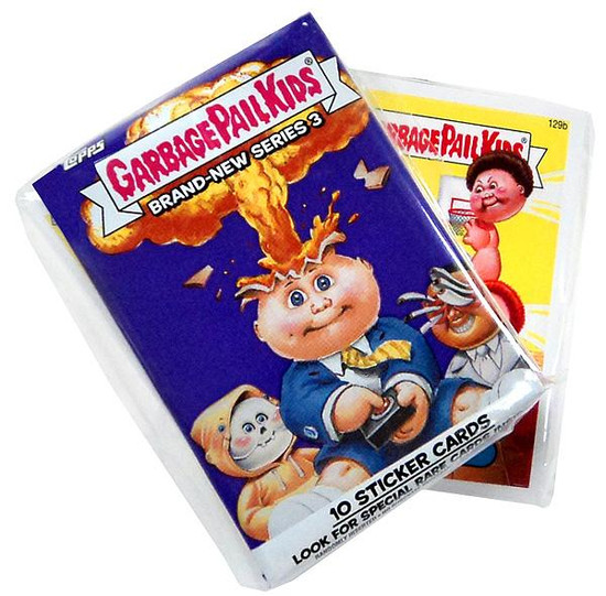 Garbage Pail Kids Topps 2013 Brand New Series 3 Trading Card Sticker Complete Set