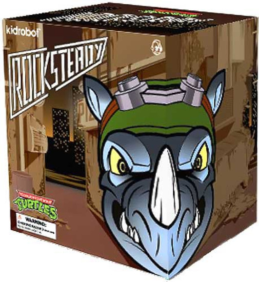 Teenage Mutant Ninja Turtles Rocksteady 7-Inch Medium Vinyl Figure