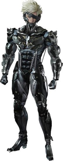 Metal Gear Solid Metal Gear Rising Revengeance Video Game Masterpiece Raiden Collectible Figure