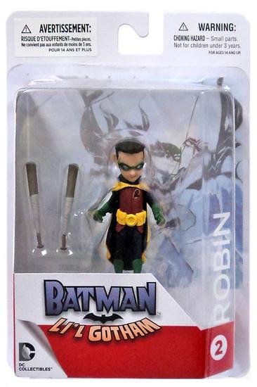 DC Batman Lil Gotham Robin Mini Figure