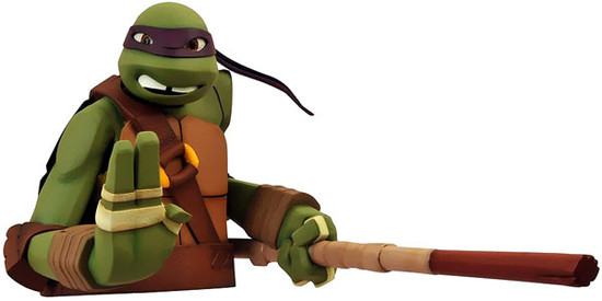 Teenage Mutant Ninja Turtles Nickelodeon Donatello Vinyl Bust Bank