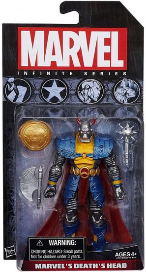 Avengers Infinite Series 2 Marvel's Death's Head Action Figure