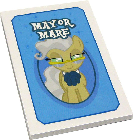 My Little Pony Monopoloy Parts 16 Mayor Mare Cards 1.5-Inch [Loose]