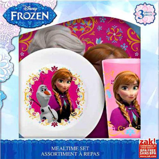 Disney Frozen Anna & Elsa Mealtime Set