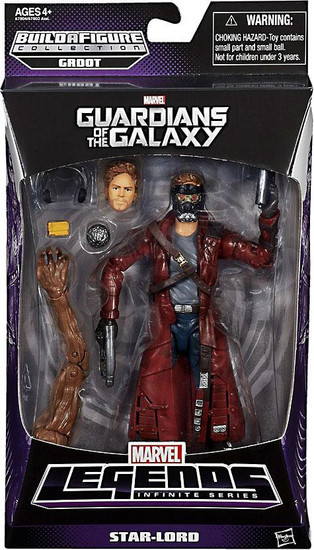 Guardians of the Galaxy Marvel Legends Groot Series Star-Lord Action Figure