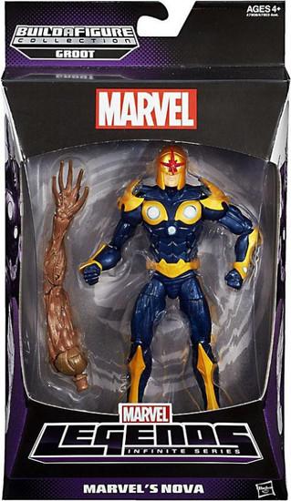 Marvel Legends Groot Series Marvel's Nova Action Figure
