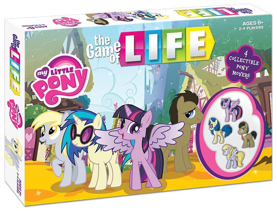 Games My Little Pony The Game of Life Board Game
