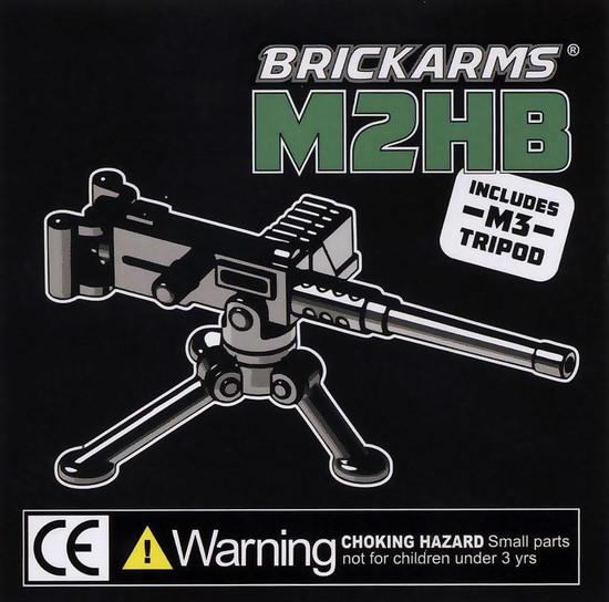 BrickArms M2HB with Tripod 2.5-Inch