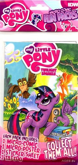 My Little Pony Fun Packs Twilight Sparkle Micro Comic Book Fun Pack
