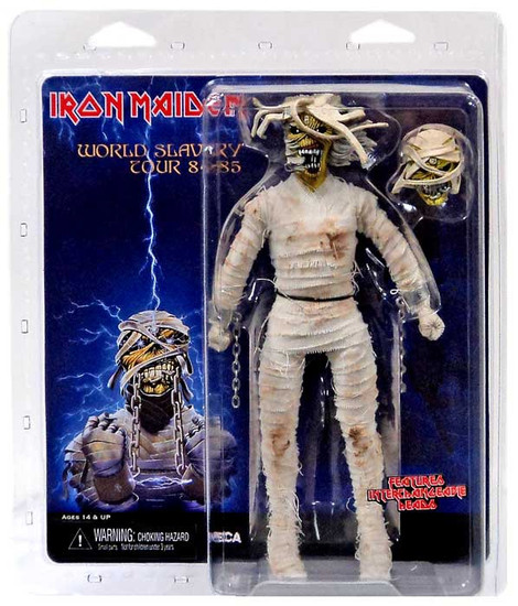 NECA Iron Maiden Powerslave Mummy Eddie Action Figure