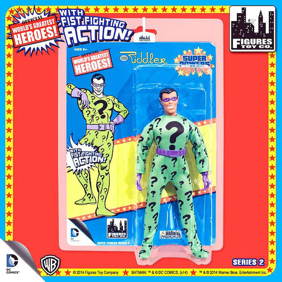 Batman World's Greatest Heroes Super Powers Series 2 The Riddler Action Figures