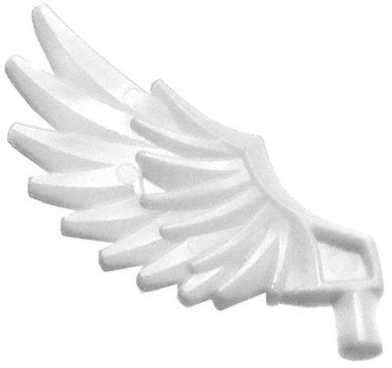 LEGO Feathered Wing Accessory [White Loose]