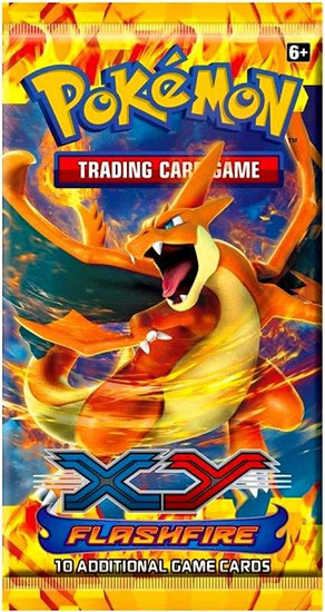 Pokemon Trading Card Game XY Flashfire Booster Pack [10 Cards]