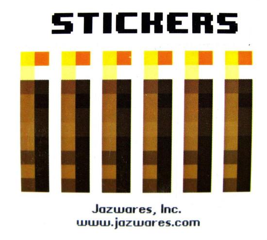 Minecraft Sticker Set Papercraft [Single Piece]