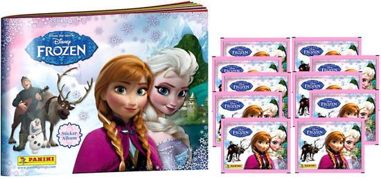 Disney Frozen Panini Frozen Sticker Album [With 10 Packs]